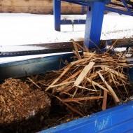 Vyradená nevhodná biomasa v elektrárni
