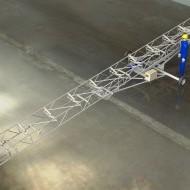 Pásový dopravník na kolesách - elektronický model