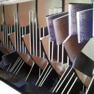 Drvič 5 ton/hod slamy (Gdansk) Nože po roku prevádzky