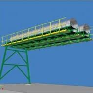 Elektronický model dopravníkového mostu