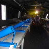 Oprava pásových dopravníkov v elektrárni